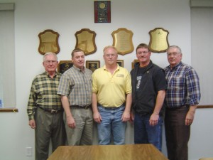 (Left to Right: Jim Peterson, Jeff Peterson, Tim Peterson, Scott Peterson, Jack Peterson)